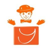 Logo yoga du rire clown
